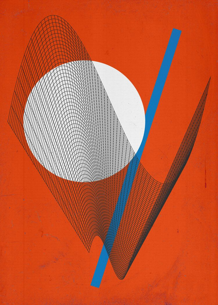 pretty shapes  - poster, posterdesign - rottwang | ello