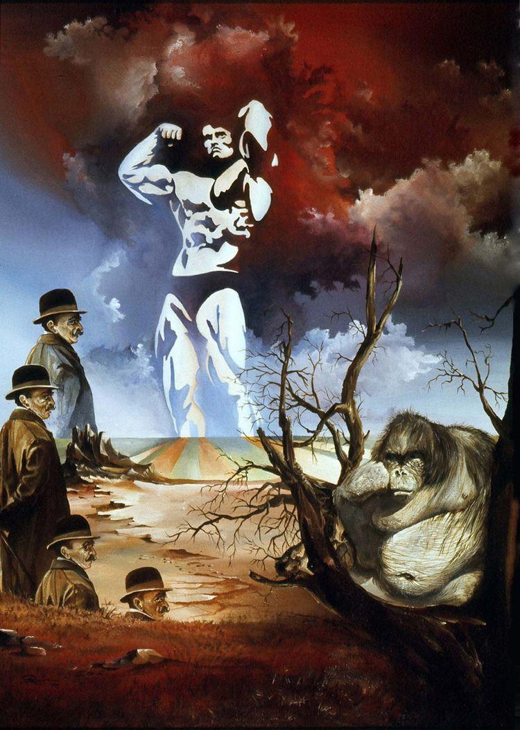 EVOLUTION - acrylic canvas 1976 - ottorapp | ello