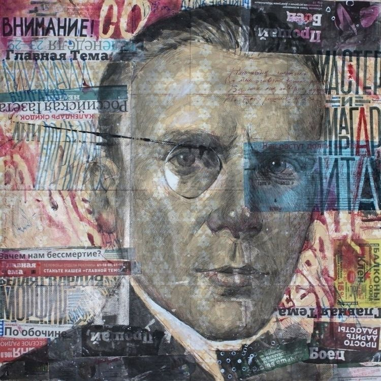 / 75x75 - Bulgakov, acrilic - petrulenkov | ello