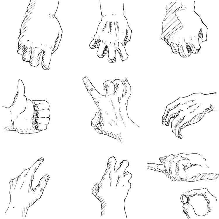 people drawing loath fear hand  - erosaerik   ello