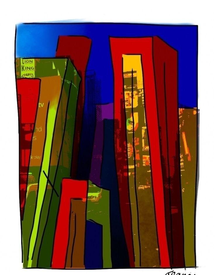 York - newyork, building, street - francisparis   ello
