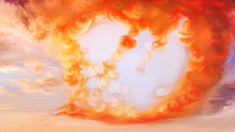 heart works Surreal abstraction - exobiology_landscapes | ello