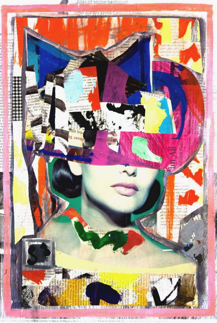 Diva thinking universe - collag - boraistudio   ello