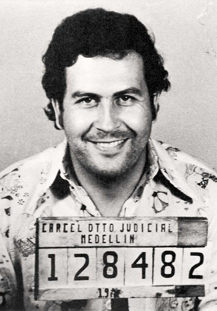 Pablo Escobar mugshot. Part cur - tsion-chudnovsky | ello