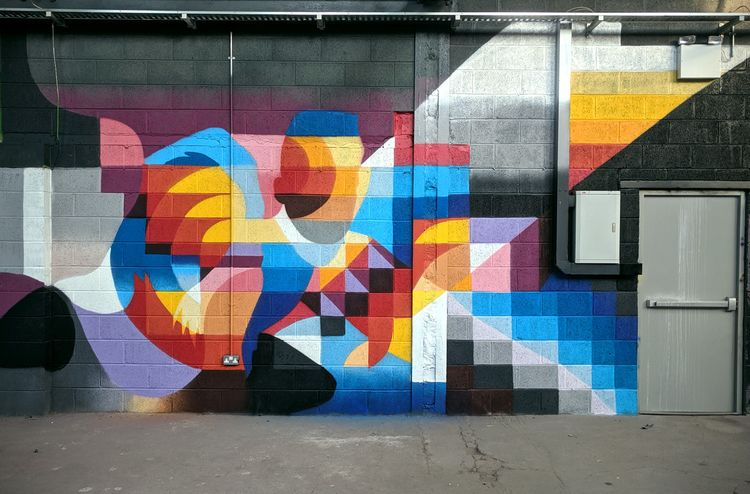 Painted yesterday  - art, mural - shaneomalleyart | ello