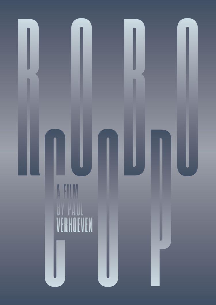 Film poster RoboCop (1987), dir - sarahschrauwen | ello