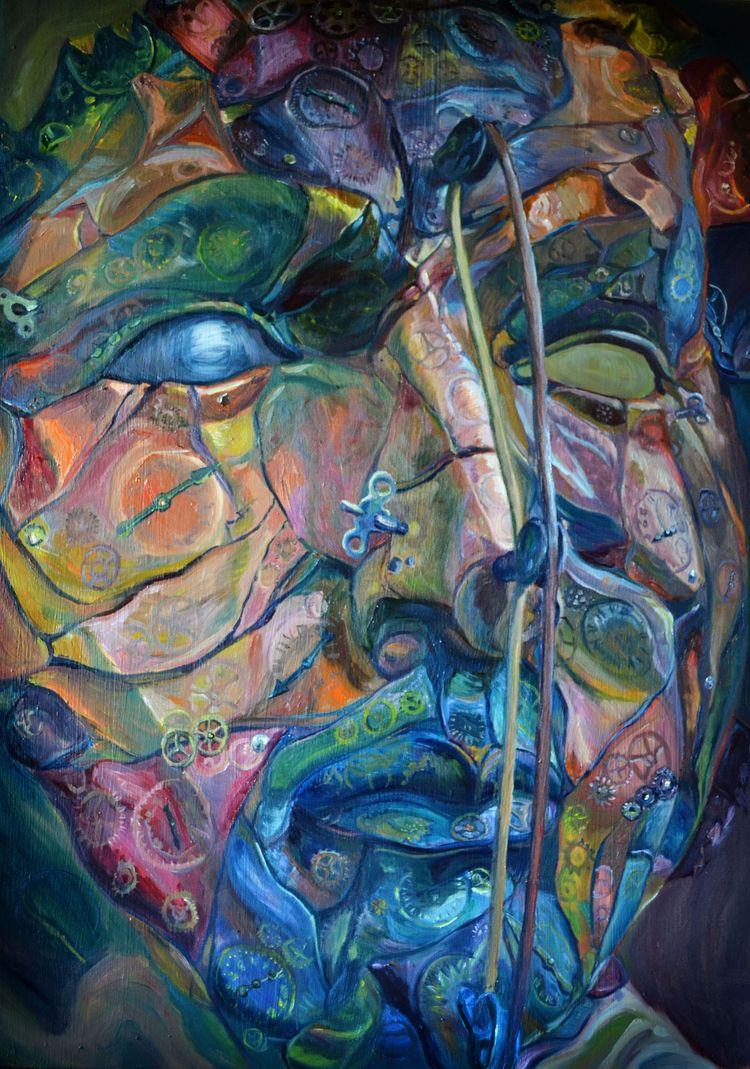 Mask Augustine Dessi. SOLD rema - ivy_artistic_chaos | ello
