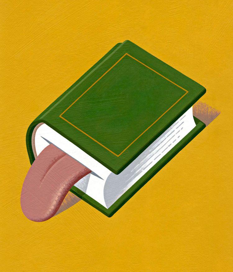 Blah, Blah - book, tongue, blah - nikad | ello