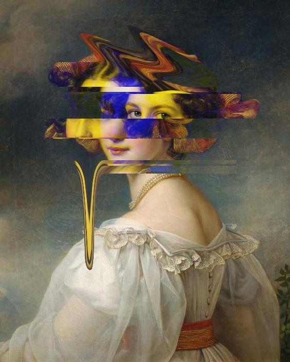 artwork, art, glitch, contemporaryart - enztexier | ello