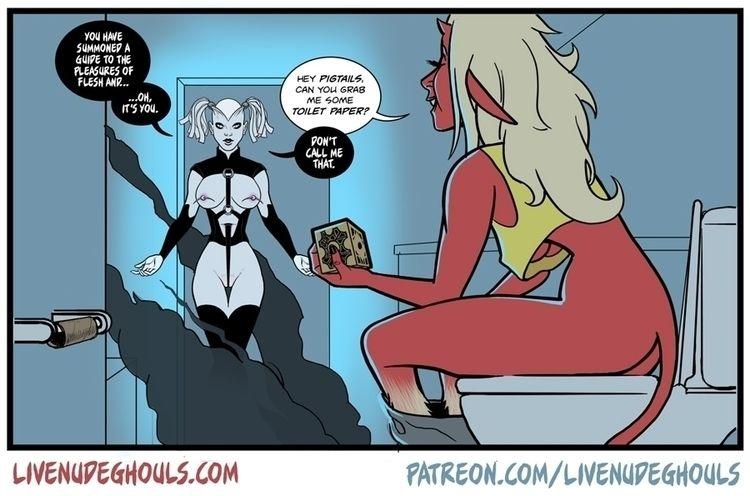 Live Nude Ghouls comic - comics - livenudeghouls | ello