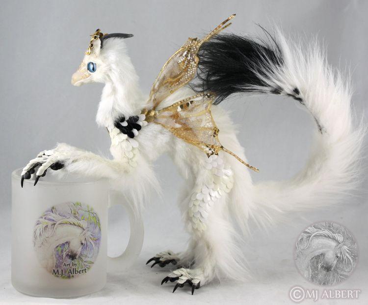 dragon, doll, art, handmade, poseable - mjalbertsculpts | ello