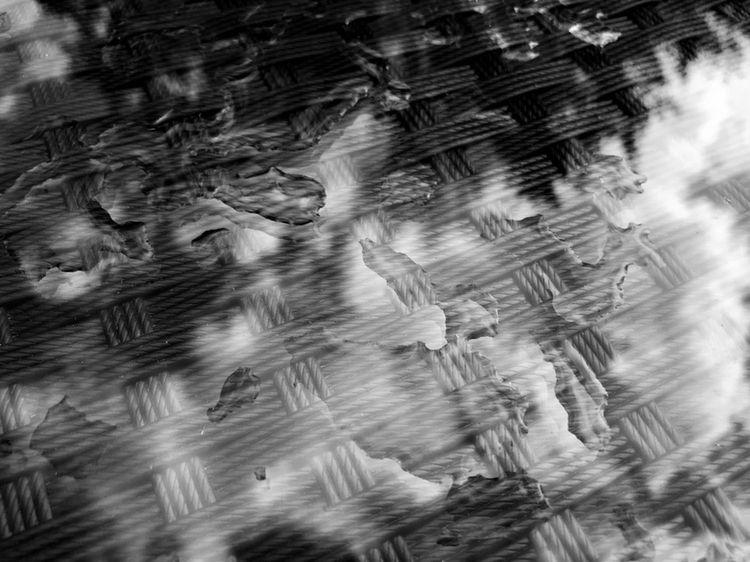 Wet glass table reflection - taari | ello
