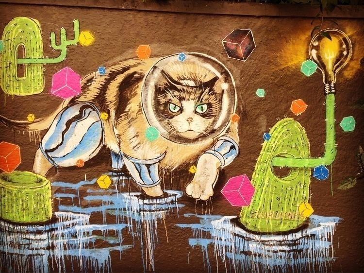 Perdizes, São Paulo, Brasil - grafitti - casparmenke   ello