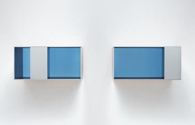 archive - donald judd - bluevertical | ello