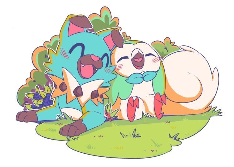 pokemon color practice love - ohheyitsval | ello