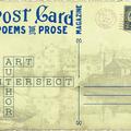 Postcard Poems and Prose Magazine (@postcardpoemsandprosemagazine) Avatar