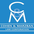 Cohen and Marzban Law Corporation (@cohenandmarzban) Avatar