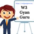W3GyanGuru (@w3gyanguru) Avatar