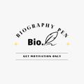 the biogrophy  (@thebiographypen) Avatar