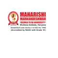 Maharishi Markandeshwar University (@maharishi758) Avatar