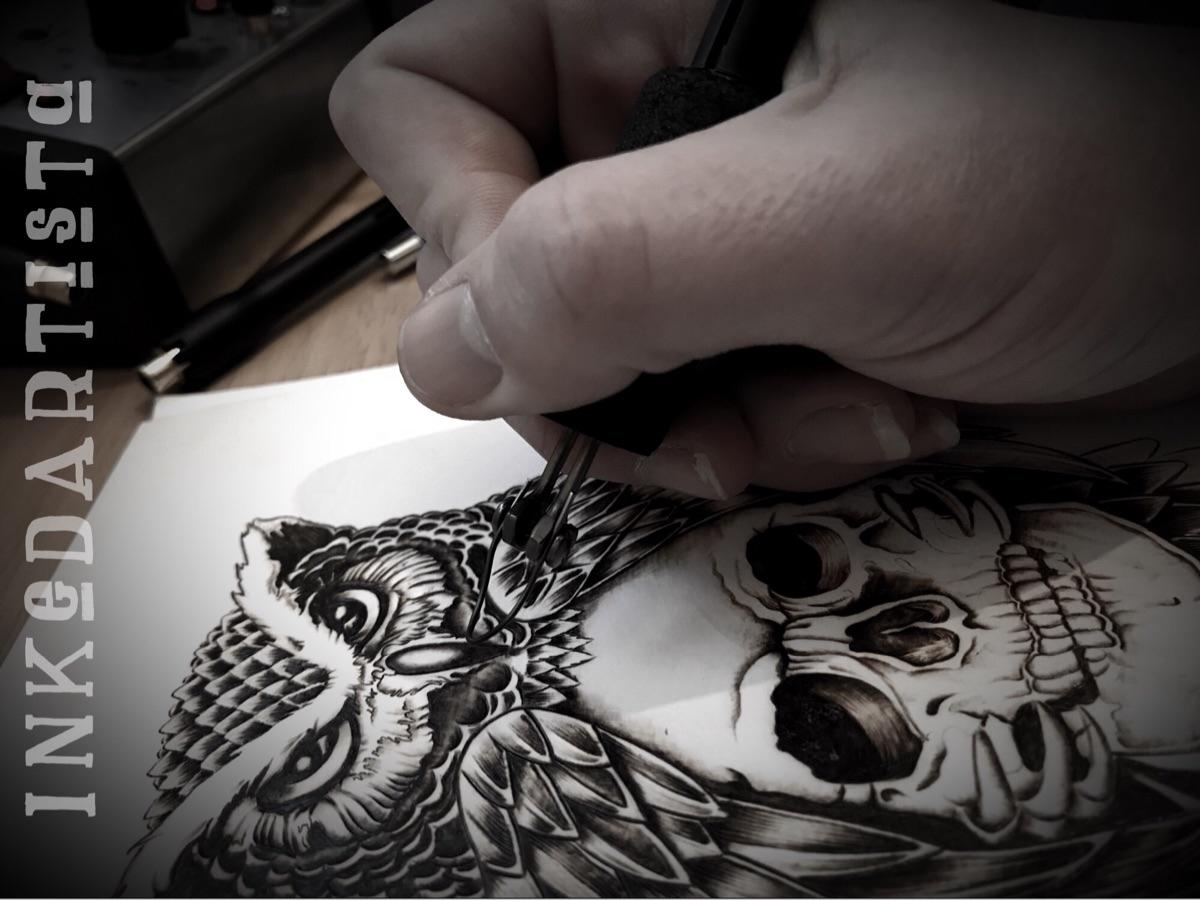 Inked Artista (@inkedartista) Cover Image