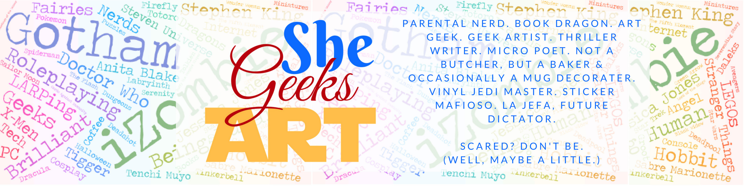 She Geeks Art (@shegeeksart) Cover Image