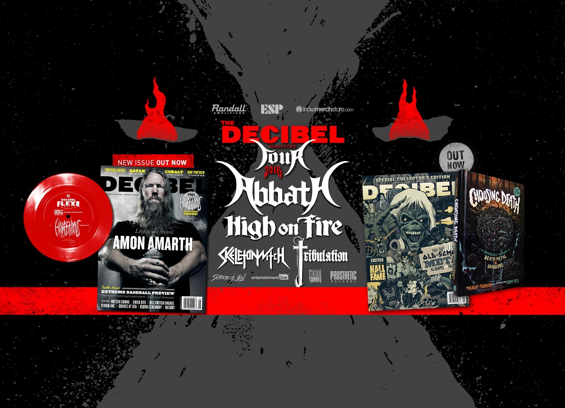 Decibel Magazine (@decibelmagazine) Cover Image
