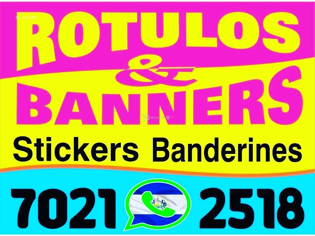 Rotulos & Banners (@bannerssv) Cover Image
