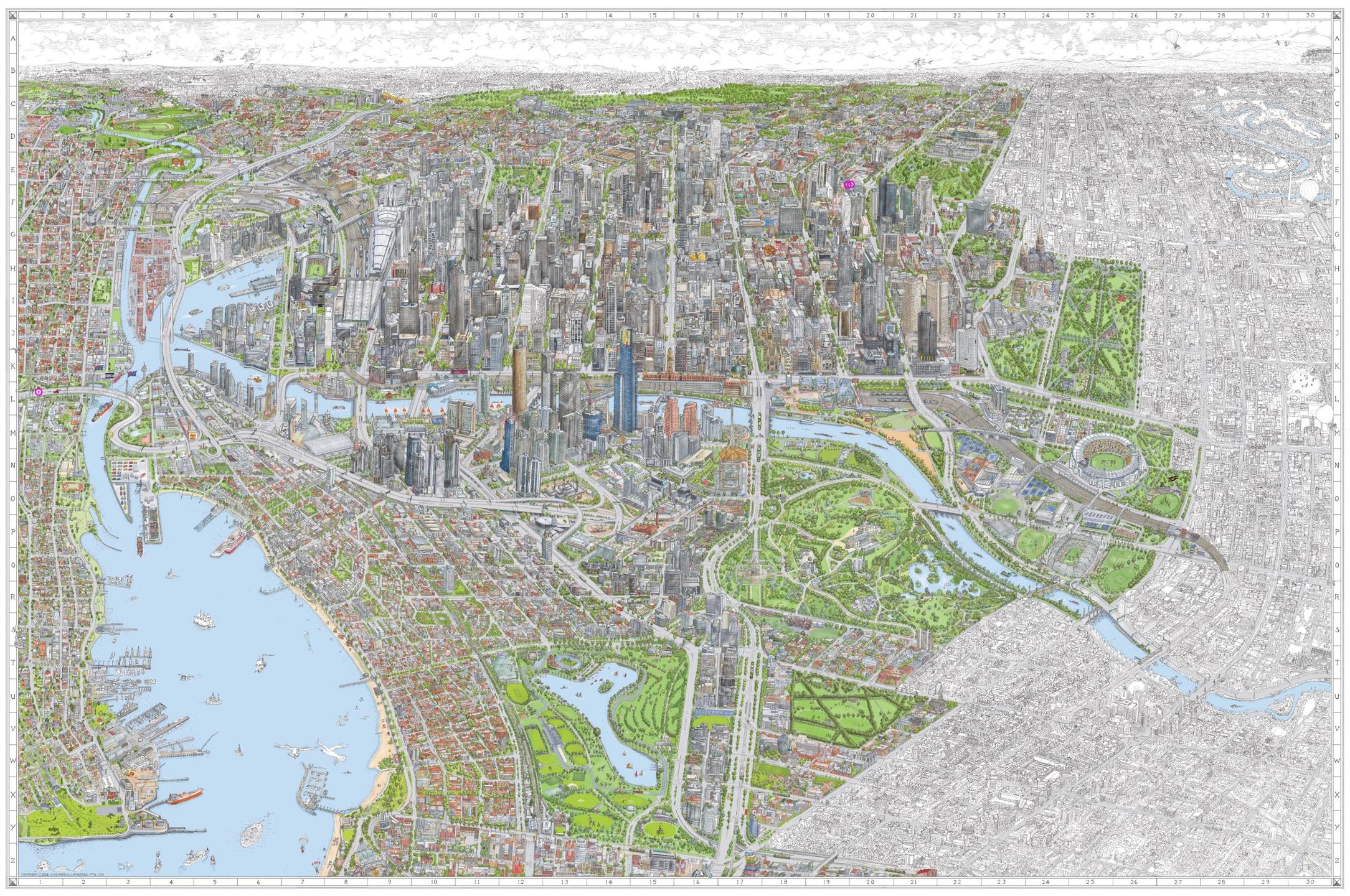The Melbourne Map (@ellomelbourne) Cover Image