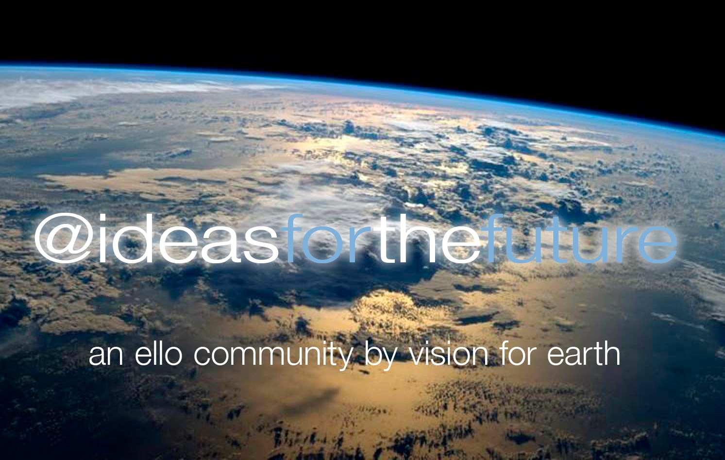 Ideas for the Future (@ideasforthefuture) Cover Image