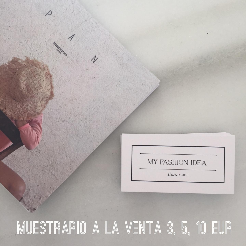 My Fashion Idea Showroom & Blog. Asesoria/venta a tiendas de MODA multimarca. (@myfashionidea) Cover Image