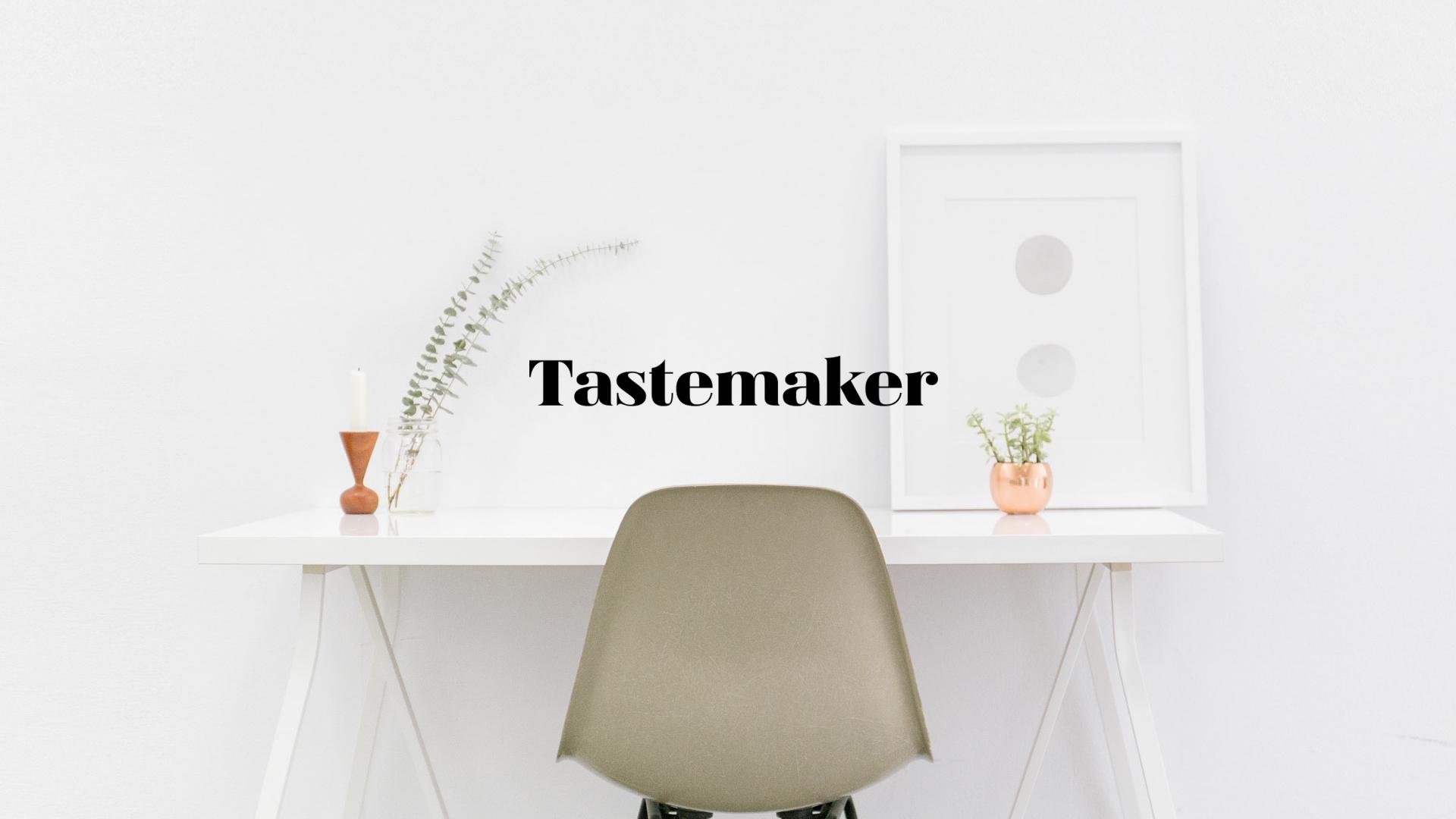 Tastemaker (@tastemaker) Cover Image