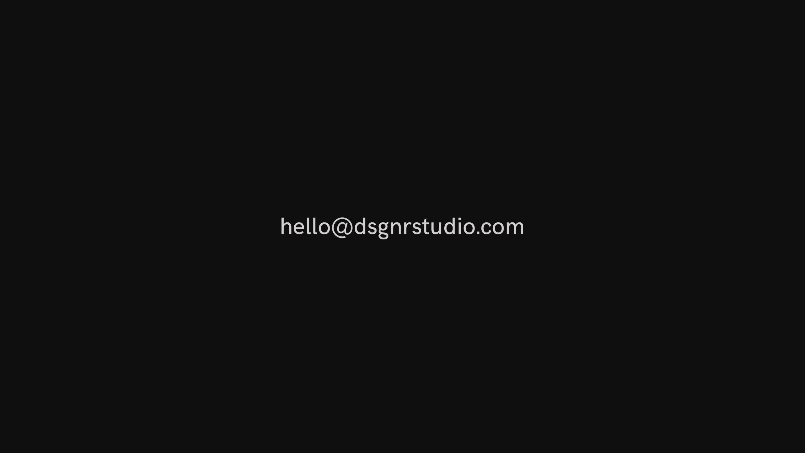 Dsgnr Studio (@dsgnrstudio) Cover Image