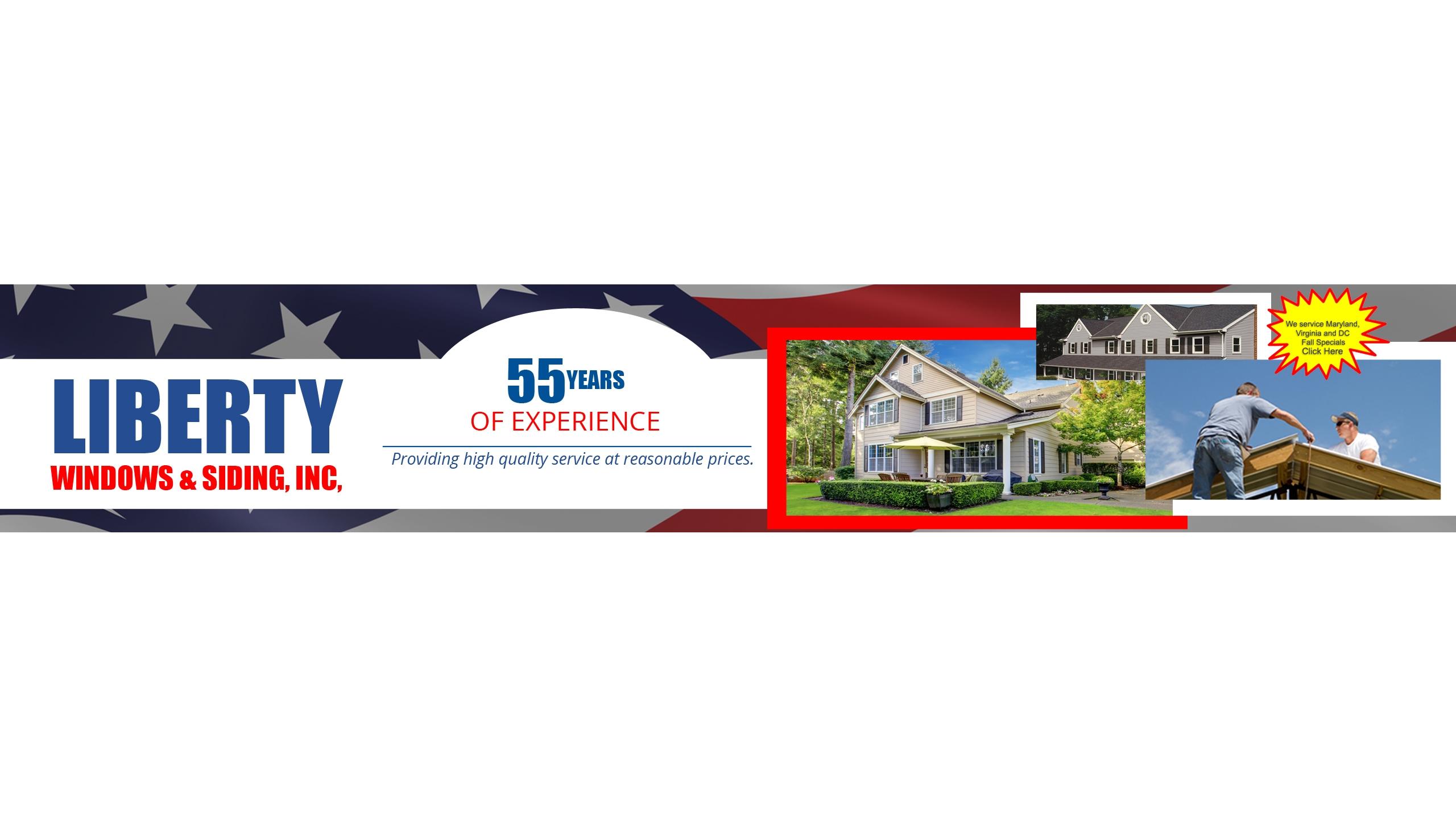 Liberty Roofing Window & Siding (@libertywindowsandsiding) Cover Image