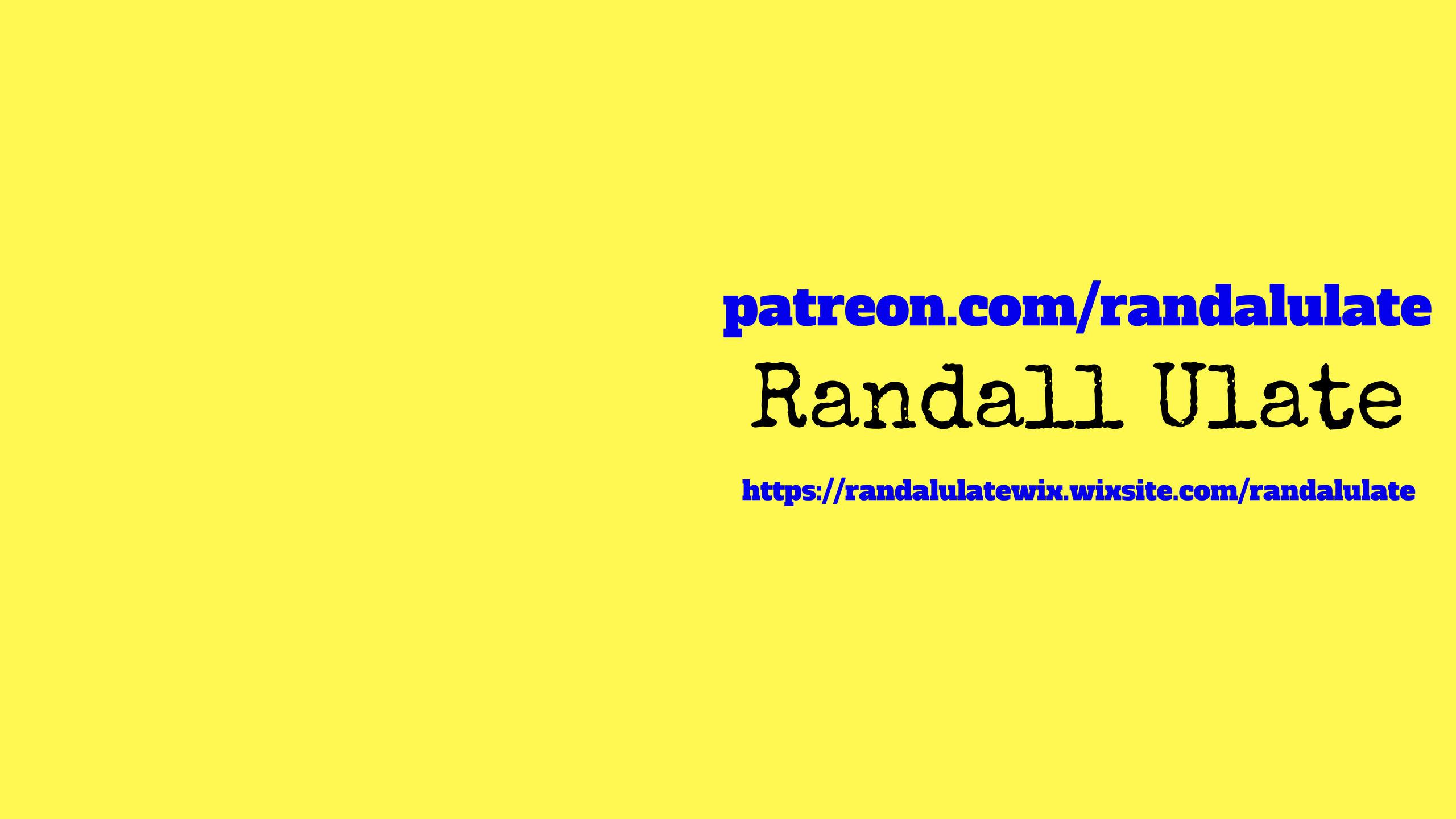 Randall Ulate (@randalulate) Cover Image