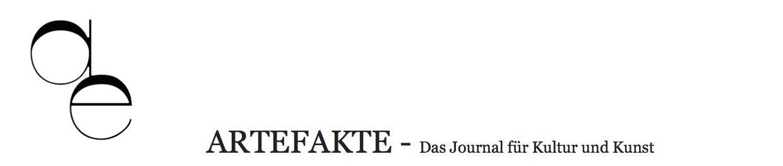 Artefakte - Das Journal für Kunst und Kultur (@artefaktejournal) Cover Image