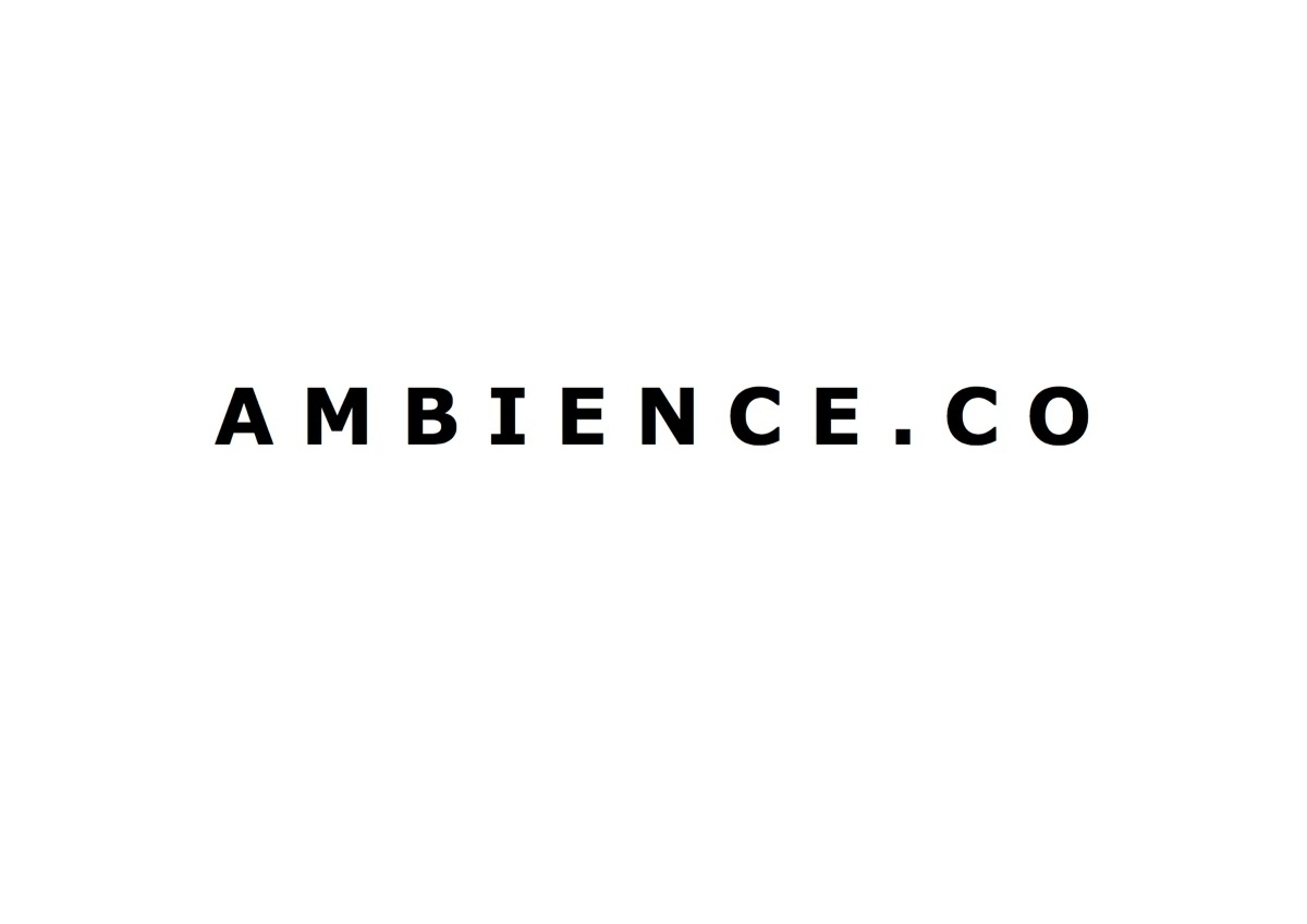 ambience.co (@ambienceco) Cover Image