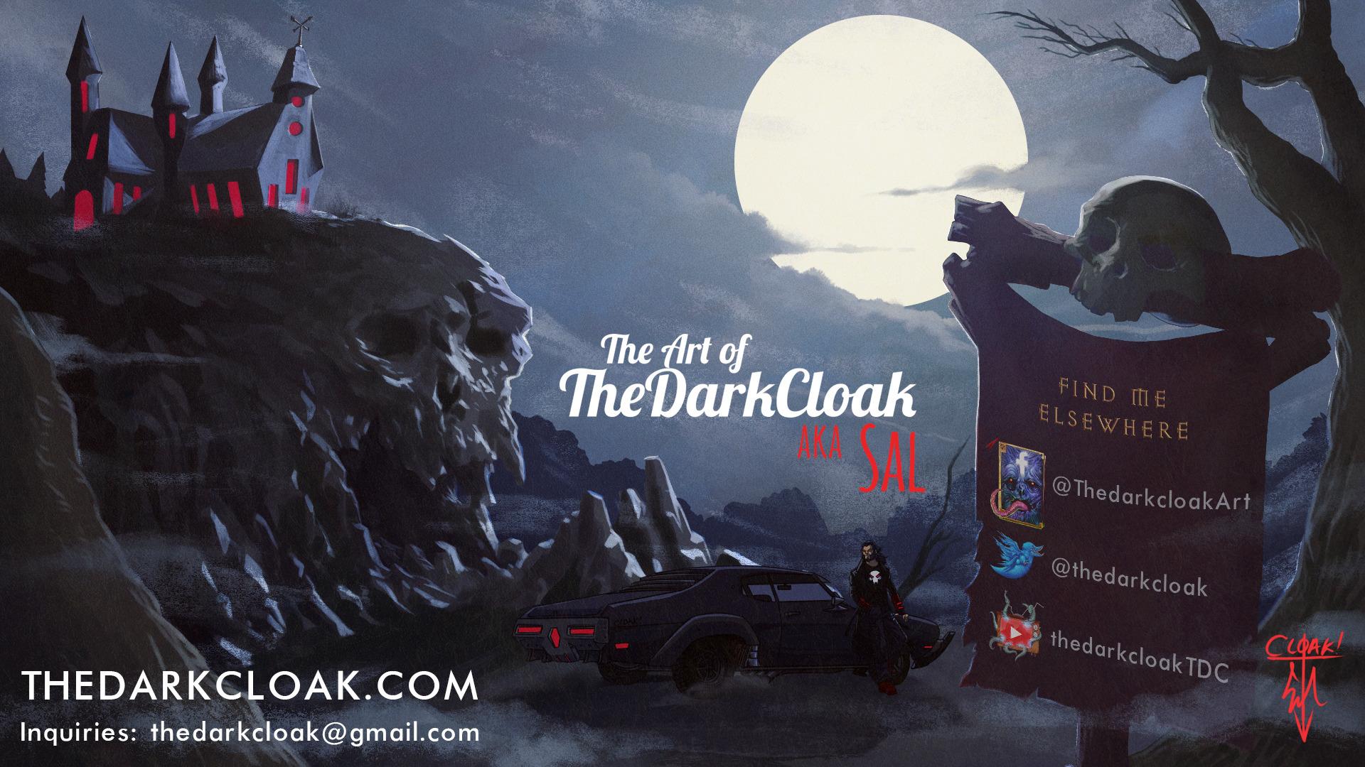 Sal Vador 'TheDarkCloak' N (@thedarkcloak) Cover Image