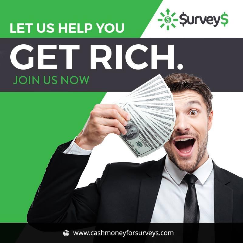 Cash Money For Surveys (@cashmoneyforsurveys) Cover Image