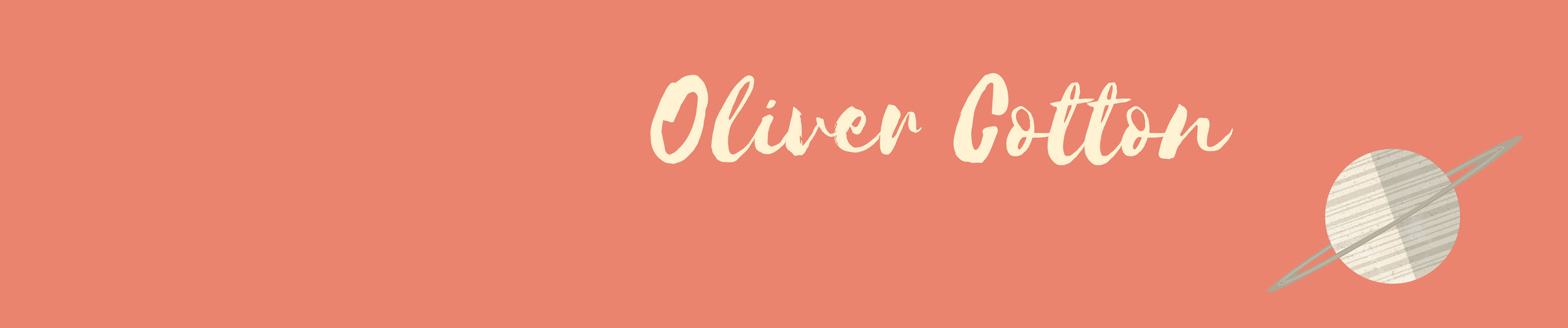 Oliver (@olivercotton) Cover Image
