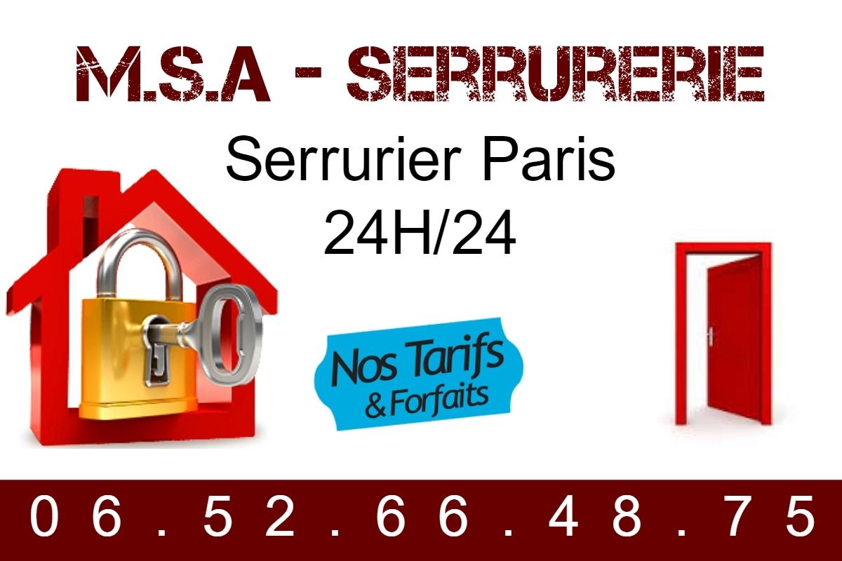 M.S.A - Serrurerie Pa (@serrurier) Cover Image