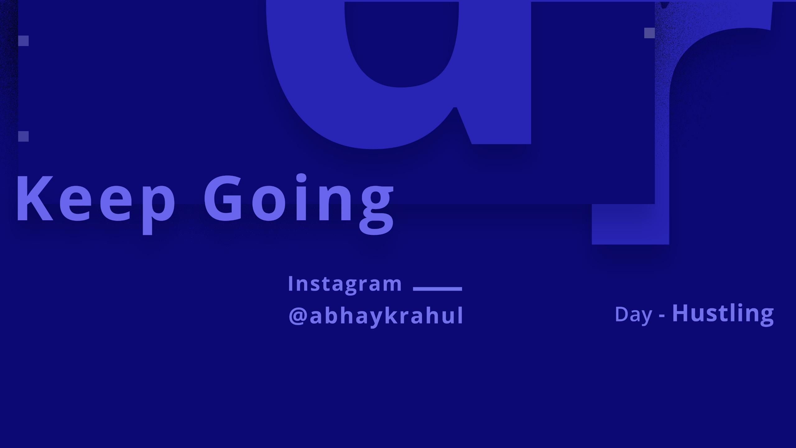 Abhay Rahul (@abhaykrahul) Cover Image