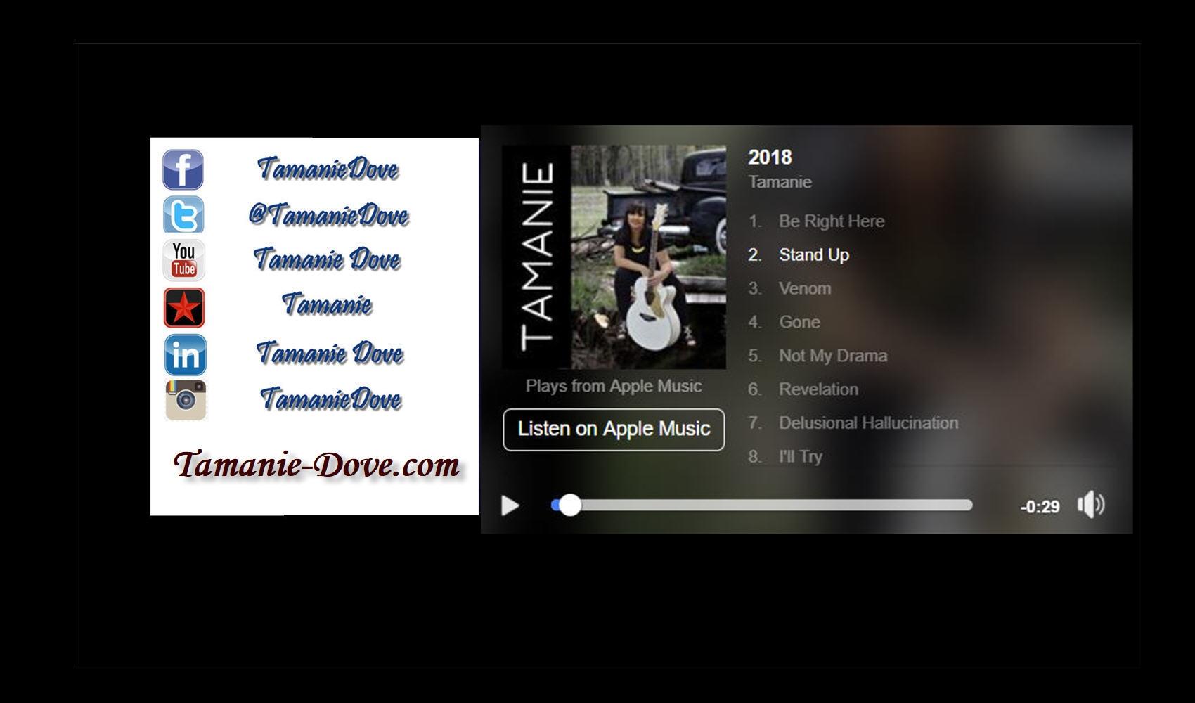 Tamanie Dove (@tamanie) Cover Image