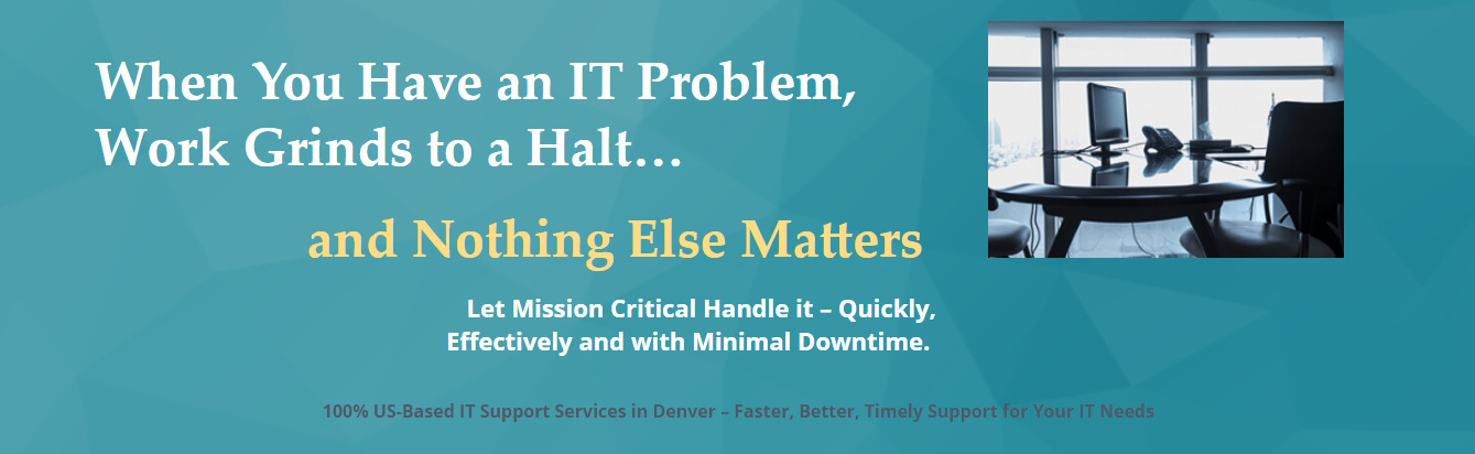 Mission Critical IT (@itservicescolorad) Cover Image