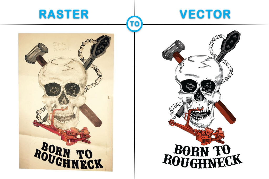 Raster To Vector (@joanfontain) Cover Image