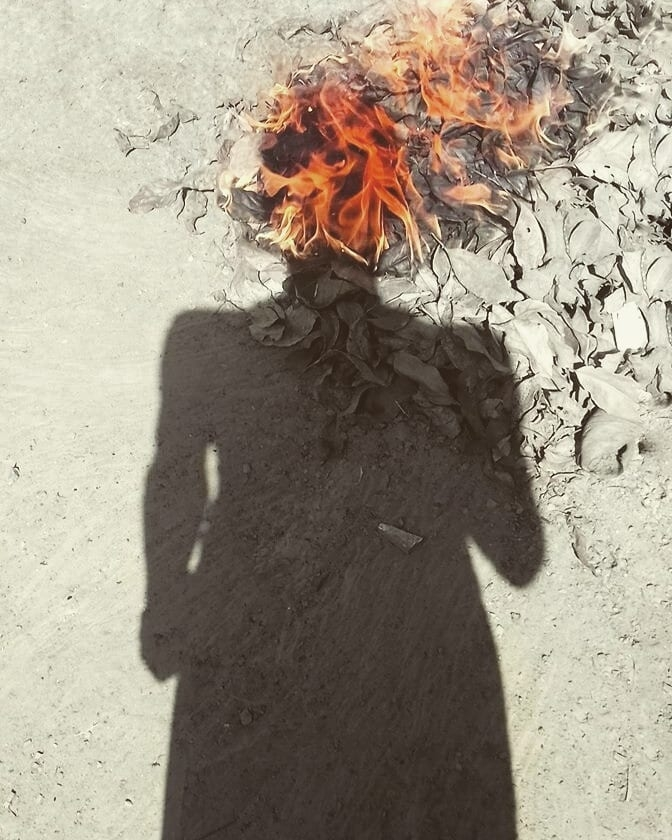 On fire. (@saho) Cover Image