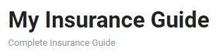 insuranceguide (@insuranceguide) Cover Image