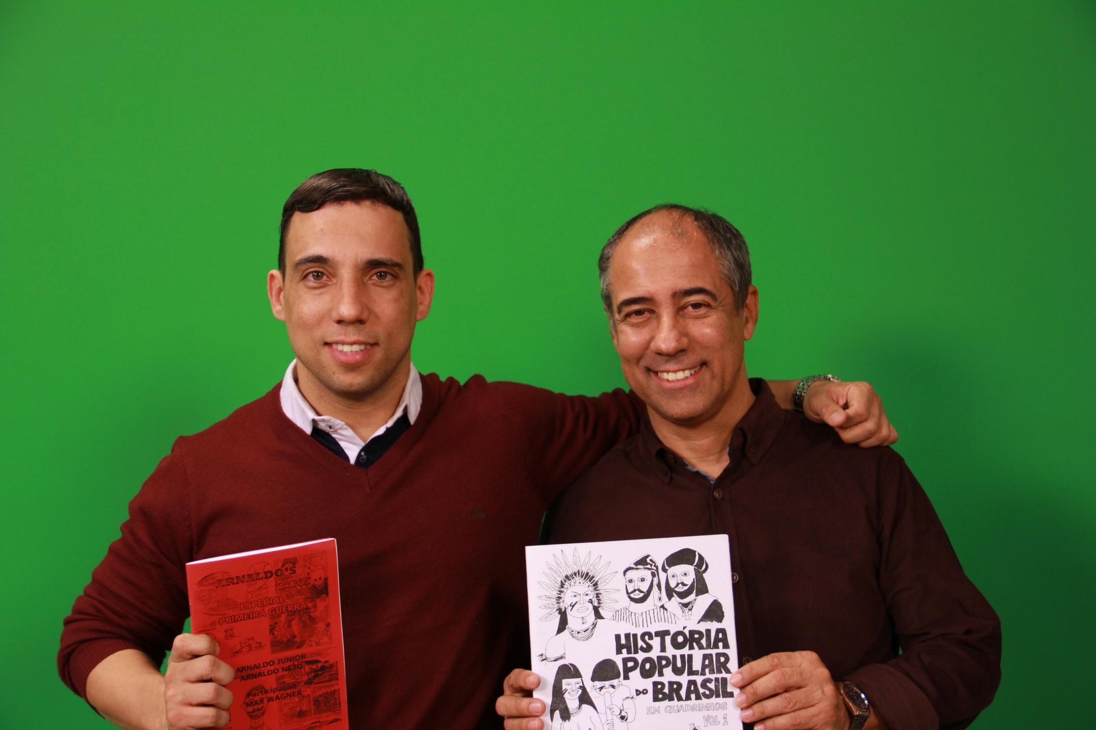 Arnaldo Junior e Arnaldo Neto (@os-arnaldos) Cover Image