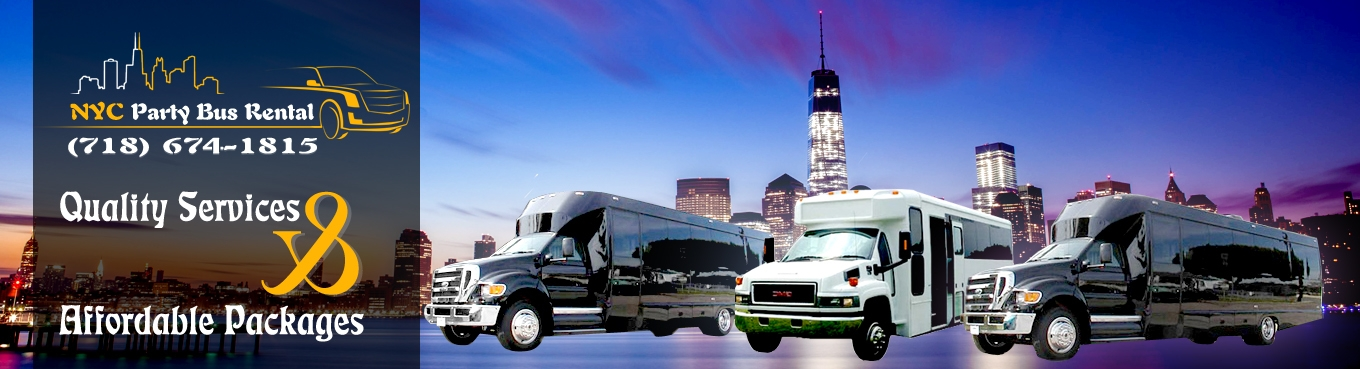 NYC Party Bus Rental (@nycpartybusrental) Cover Image