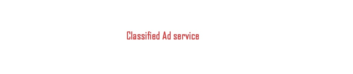 Classified Ad Service (@classifiedadservice) Cover Image